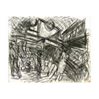 Leon Kossoff : 'Embankment Station I '